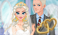 Blondie Elopes in Hawaii: Wedding Dress Up Game