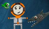 Vissen vs. duiker