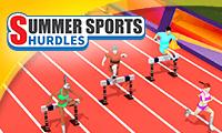 لعبة سباق الركض وقفز الحواجز Summer Sports: Hurdles