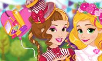 Frühlingsvolksfest für Prinzessinnen