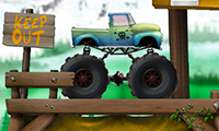 Monster Truck : course d'obstacles