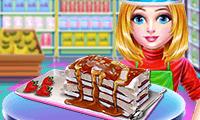 Eiskrem-Sandwich-Torte