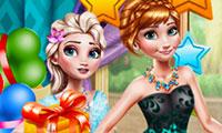 Празднование дня рождения принцессы