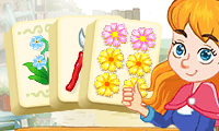 Mahjong Connect: Blumen