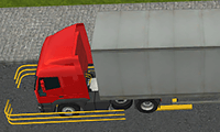 Semi Driver 3D: Trailer Parking