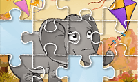 Jigsaw Puzzle Kids: Animal Fun