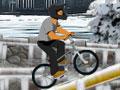 Session BMX d'hiver