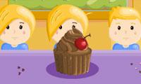 Kesibukan di Toko Cupcake
