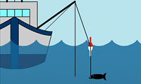 Pescando no Mar