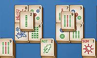 Roligt mahjongspel