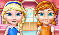 Ellie and Annie: Doll House - Decorating Game