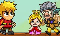 Prince and Caged Princess