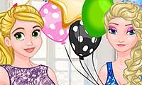 Princesa helada: fiesta sorpresa