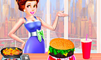 Dede Burger Fun: Cooking Game