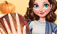 Princesses: Autumn Knits and Nails