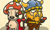 Bad Viking and the Curse of the Mushroom King