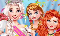 Princesses : robes ultra colorées