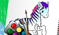 Zoo Animals: Coloring Book