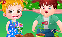 Bébé Hazel : garden-party