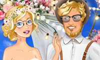 Hipster Wedding: Dress Up Game