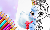 Princesses: Outfit Coloring