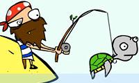 Pesca sull'isola