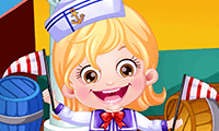 Baby Hazel: Sailor Dress-Up