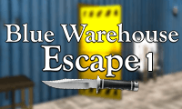 Blue Warehouse Escape: Episode 1