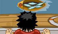 Pêche aux cailloux