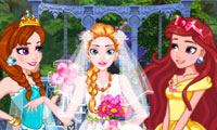 Princess Garden Wedding: Dress Up Game