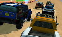 Desert Storm Racing: Dirt Track Game