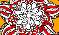 Coloriages de mandalas