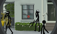 Tactical Squad: Stickman Sniper Game