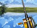 Pesca in un lago alpino