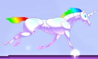 L'attaque de la licorne robot