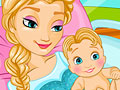 Elsa Frozen: Melahirkan