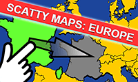 Scatty Maps: Europa