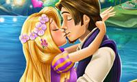 La historia de amor de Rapunzel