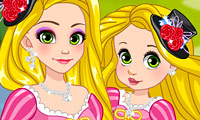 Rapunzel & Daughter: Matching Dress
