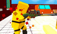 Strike Blocky Fun: Shooting Game 3D