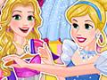 Blonde Princess Prom Shopping