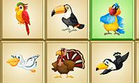 Fågelmahjong Deluxe