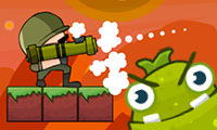 Rolling Fall: Zombie Killing Game