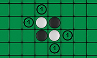 Reversi: 2 Player Board Game