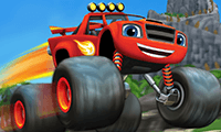 Blaze and the Monster Machines: Dragon Island Race