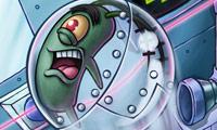 Squarepants Planktons patty plunder