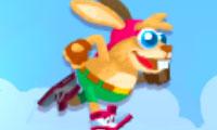 Rennend konijn