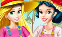 Prinzessinnen: Gartenarbeit