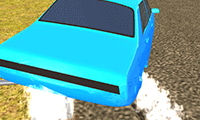 Echte 3D-autodriftgekte