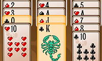 Solitaire du scorpion